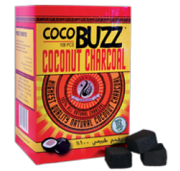 Starbuzz COCOBUZZ 108Pcs Charcoal