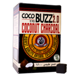 Starbuzz COCOBUZZ 75Pcs Charcoal